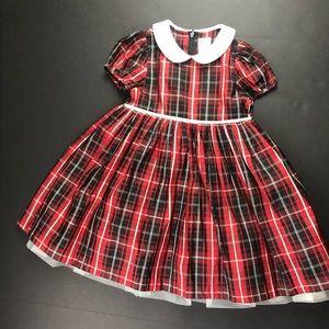 Gymboree Red Plaid Christmas Dress